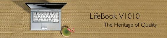 Fujitsu LifeBook V1010 Notebook Specifications