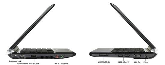 Asus Eee PC 1000H Netbook