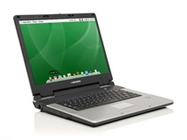 Everex gBook VA1500V Notebook Windows XP, Pemacu Vista