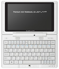 Raon Everun Note – D24S UMPC Technical Specifications
