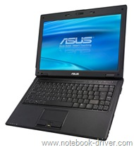 ASUS B80A Business Notebook Technical Specifications
