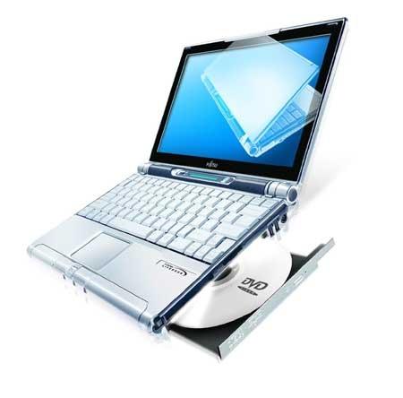 Fujitsu Lifebook P5010 / P5010D Notebook Windows 2000, XP