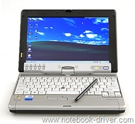 Fujitsu LifeBook P1510D Tablet PC Windows XP Drivers
