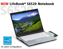 Fujitsu LifeBook S6520 / S6421 / S6420 Notebook Windows XP Drivers