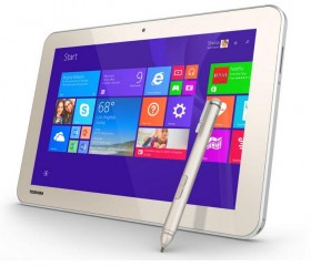 도시바 앙코르 2은 WT8PE-B 태블릿 쓰기