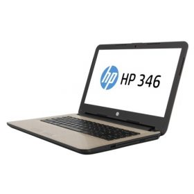HP 346 G3 Notebook PC, Left Facing with HP Branded Screen